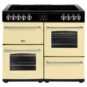 Belling FARMHOUSE 100ECRM 4138 100cm Ceramic Range Cooker – CREAM