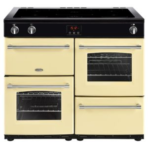 Belling FARMHOUSE 100EICRM 4144 100cm Induction Range Cooker – CREAM