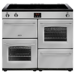 Belling FARMHOUSE 100EISIL 4143 100cm Induction Range Cooker - SILVER