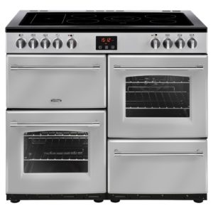 Belling FARMHOUSE 100ESIL 4137 100cm Ceramic Range Cooker – SILVER