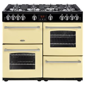 Belling FARMHOUSE 100GCRM 4141 100cm Gas Range Cooker – CREAM