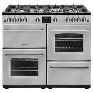 Belling FARMHOUSE 100GSIL 4140 100cm Gas Range Cooker – SILVER