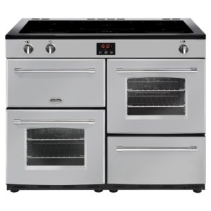 Belling FARMHOUSE 110EISIL 4155 110cm Induction Range Cooker - SILVER