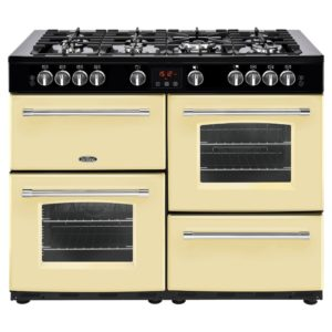 Belling FARMHOUSE 110GCRM 4153 110cm Gas Range Cooker - CREAM