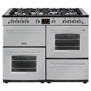 Belling FARMHOUSE 110GSIL 4152 110cm Gas Range Cooker – SILVER