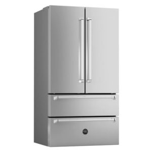 Bertazzoni REF90XM Master Series French Style Fridge Freezer Non Ice & Water – STAINLESS STEEL