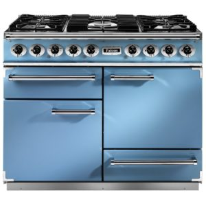 Falcon F1092DXDFCA/NM 1092 Deluxe Dual Fuel Range Cooker – BLUE