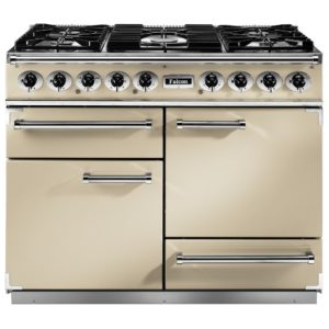Falcon F1092DXDFCR/CM 1092 Deluxe Dual Fuel Range Cooker - CREAM