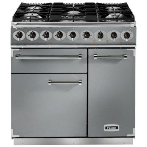 Falcon F900DXDFSS/CM 900 Deluxe Dual Fuel Range Cooker - STAINLESS STEEL