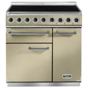 Falcon F900DXEICR/B 900 Deluxe Electric Induction Range Cooker – CREAM