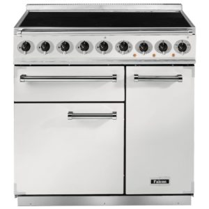 Falcon F900DXEIWH/N 900 Deluxe Electric Induction Range Cooker – WHITE