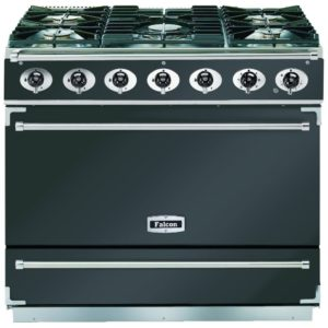 Falcon F900SDFSL/NM 90cm Single Cavity Dual Fuel Range Cooker – SLATE