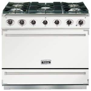 Falcon F900SDFWH/NM 90cm Single Cavity Dual Fuel Range Cooker – WHITE