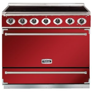 Falcon F900SEIRD/N 90cm Single Cavity Electric Induction Range Cooker – RED