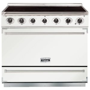 Falcon F900SEIWH/N 90cm Single Cavity Electric Induction Range Cooker – WHITE