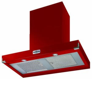 Falcon FHDCT1090RD/N Contemporary Chimney Hood 1090mm – RED