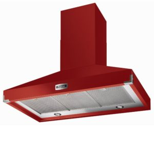 Falcon FHDSE1000RD/N Traditions 1000 Super Extract Chimney Hood 10198 – RED