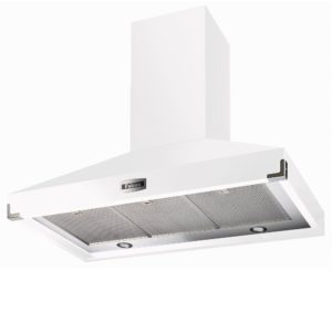 Falcon FHDSE1092WH/N Traditions 1092 Super Extract Chimney Hood – WHITE