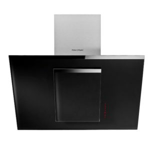 Fisher Paykel HT90GHB2 90cm Angled Chimney Hood – BLACK