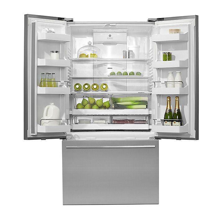 Fisher Paykel Rf610adx4 French Style Fridge Freezer No Dispenser