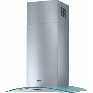 Franke FGC606XS 60cm Curved Glass Hood – STAINLESS STEEL