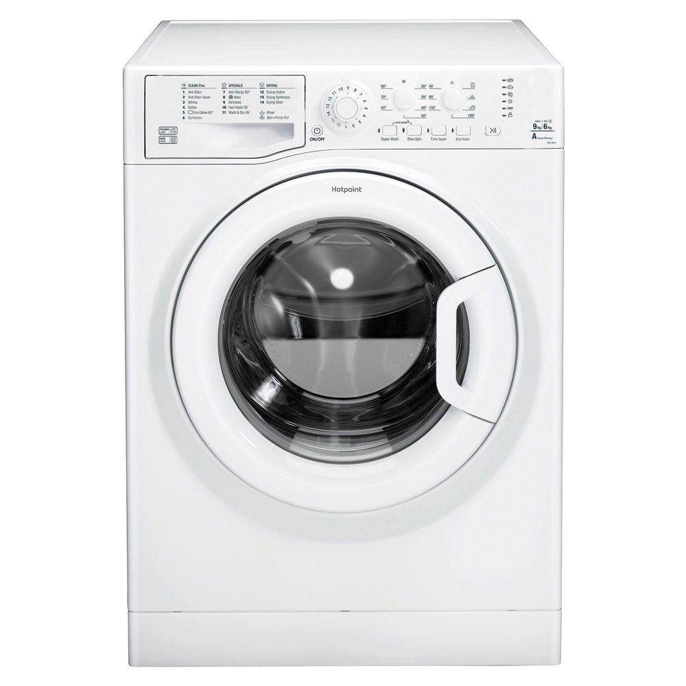 hotpoint fdl9640p 9kg freestanding aquarius washer dryer 1400rpm rh appliancecity co uk