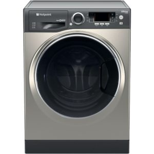 Hotpoint RD966JGD 9kg Ultima S-Line Steam Washer Dryer 1600rpm – GRAPHITE