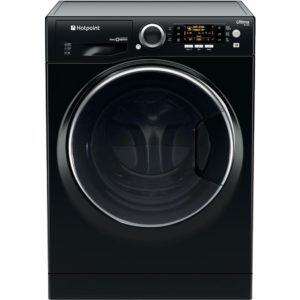 Hotpoint RD966JKD 9kg Ultima S-Line Steam Washer Dryer 1600rpm – BLACK