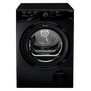 Hotpoint TCFS83BGK 8kg Aquarius Condenser Tumble Dryer - BLACK