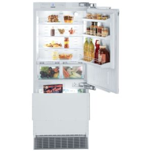 Liebherr ECBN5066 76cm Integrated Biofresh Fridge Freezer Right Hinged
