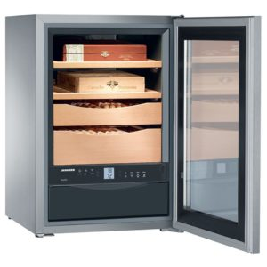 Liebherr ZKES453 Special Order Freestanding Humidor Cigar Cabinet – STAINLESS STEEL