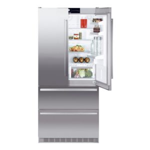 Liebherr CBNES6256 French Style Fridge Freezer With Biofresh - STAINLESS STEEL
