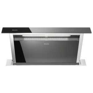 Elica PANDORA BLK 84cm Push Mechanism Downdraft Extractor – BLACK