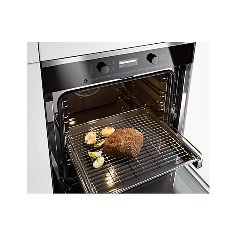 Miele H6360bpclst Built In Pyrolytic Single Oven With Moisture Plus