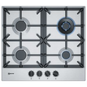 Neff T26DS59N0 60cm 4 Burner FlameSelect Gas Hob – STAINLESS STEEL