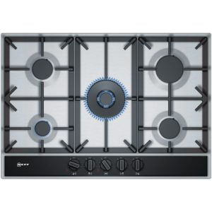 Whirlpool POW75D2NB 75cm 5 Burner Gas On Glass Hob – BLACK