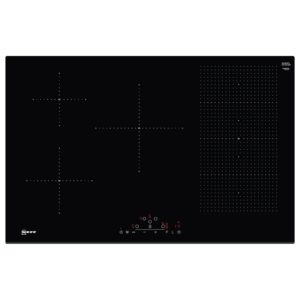 AEG IKB84401FB 78cm 4 Zone Bevelled Induction Hob – BLACK