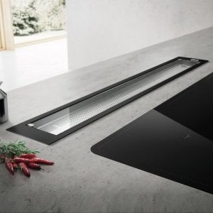 Elica SEE YOU BL 80cm Downdraft Extractor – BLACK