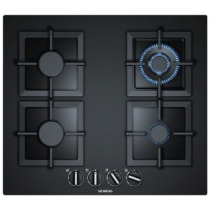 Siemens EP6A6HB20 IQ-500 60cm Frameless Gas On Glass Hob - BLACK