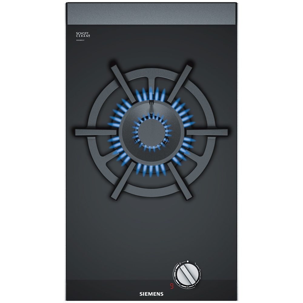 Gut Siemens ER3A6AD70 IQ 700 30cm Domino Wok Burner StepFlame Gas Hob    STAINLESS STEEL   Appliance City