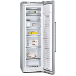 Siemens GS36NAI31 IQ-500 60cm Freestanding Frost Free Freezer - STAINLESS STEEL