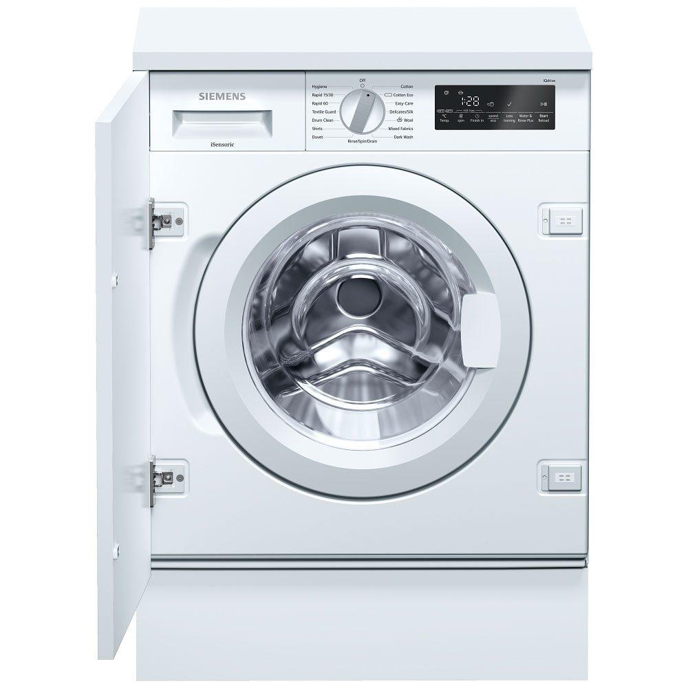 Siemens WI14W500GB 8kg IQ-700 Fully Integrated Washing Machine - Appliance  City