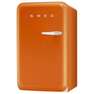 Smeg FAB10LO 55cm Orange Retro Refrigerator Left Hand Hinge – ORANGE