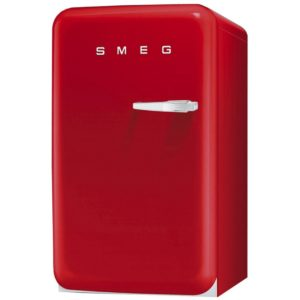 Smeg FAB10HLR Red Retro Homebar Fridge Left Hand Hinge – RED