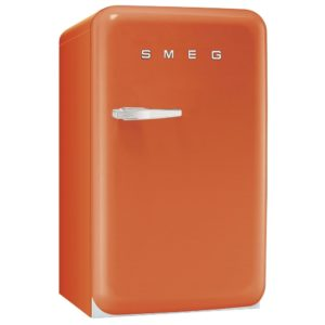 Smeg FAB10RO 55cm Orange Retro Refrigerator Right Hand Hinge – ORANGE