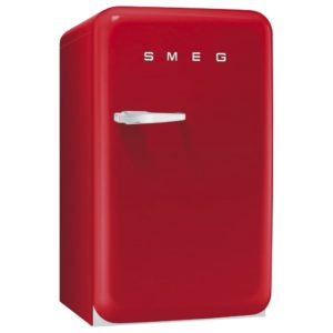 Smeg FAB10HRR Red Retro Homebar Fridge Right Hand Hinge – RED