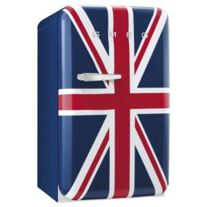 Smeg FAB10RUJ 55cm Union Jack Retro Refrigerator Right Hand Hinge – UNION JACK