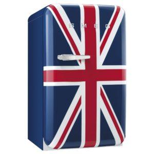Smeg FAB10RUJ 55cm Union Jack Retro Refrigerator Right Hand Hinge – UNION JACK