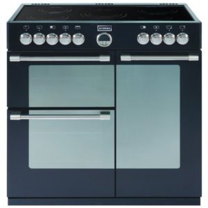 Stoves STERLING 900EBLK 0466 Sterling 90cm Ceramic Range Cooker - BLACK