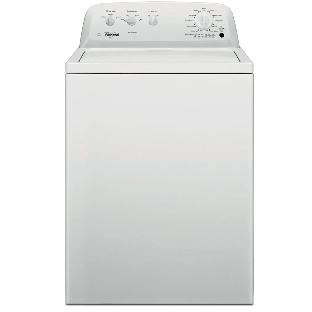Best Top Loading Washing Machine >> Whirlpool 3LWTW4705FW 15kg American Top Loading Washing ...